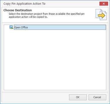 Copying custom actions between projects