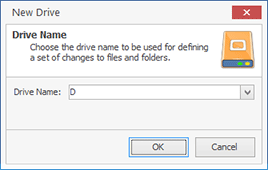 Adding a logical drive definition to a project