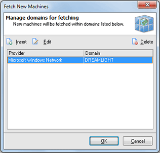 Specifying the groups to fetch new Machines from
