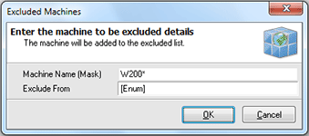 Specifying the exclusion criteria