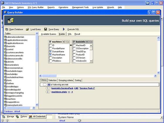 SQL Query Builder