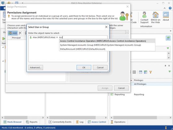 User access management