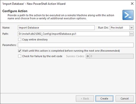 PowerShell Script Configuration