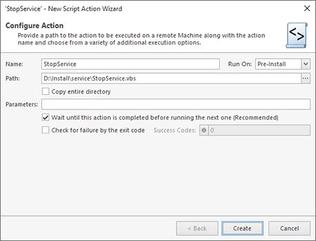 Script File Configuration