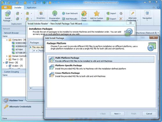 Advanced MSI installation options