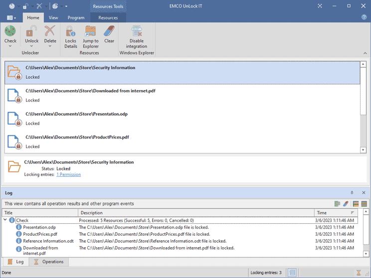 UnLock IT Free - Unlock a File or Folder Locked by the System